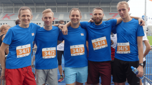meyer-poland-charity-run-blue-team