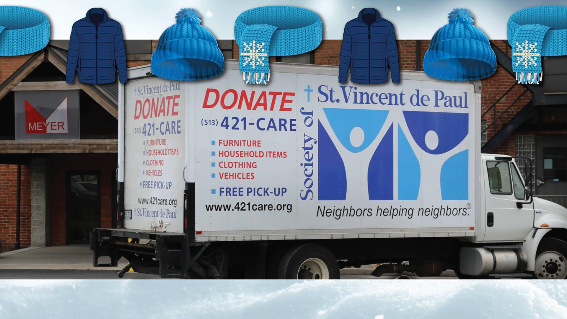 St. Vincent de Paul donation truck